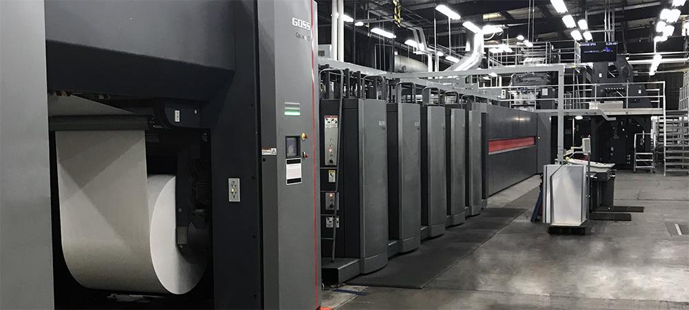 New Web Printing Press Up And Running